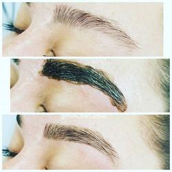 eye brow arch eyebrows tint