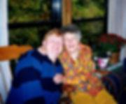 Me and Aunt Alma Henderson Keener 1999 i