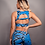 Thumbnail: Louisa Python Double Strap Mesh Bra Set