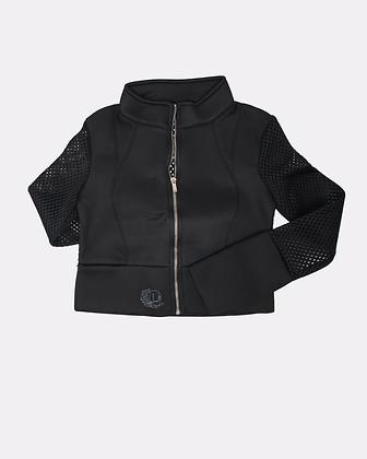 Nikita Ventilated Mesh Crop Top Jacket