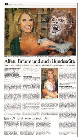 Colorline Brigitte Erni Aarau Visagisten- und Maskenbildnerschule