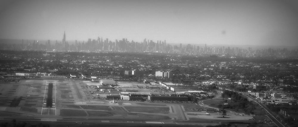 Landing at John F Kennedy Airport