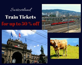 Switzerland Train Tickets - for up to 50% off