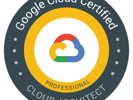 Passing the Professional Cloud Architect - My Journey