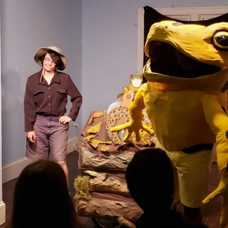 Frogs show at the Detroit Puppet Slam