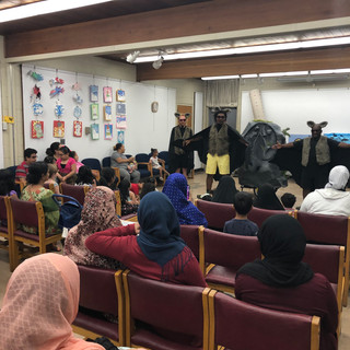 Bats show at the Hamtramck Public Library