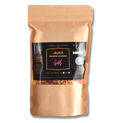 JAJA'S PREMIUM SEAMOSS GOLG 75G  - 100% sun-dried