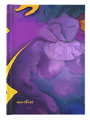 Hardcover blank journals with art covers