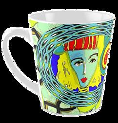 Vibrant unique tall mugs