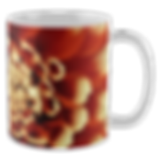 Vibrant unique art mugs