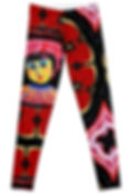 Front of Josephine Face Leggings