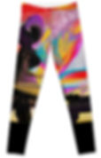 Front of Walking the Dog Leggings