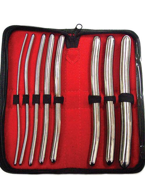 Rouge Stainless Steel Hegar 8 pc Dilator Set