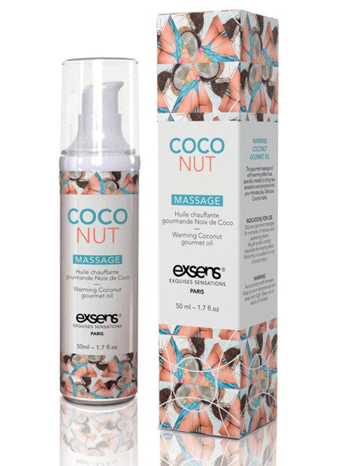 EXSENS of Paris Warming Massage Oil - Coconut