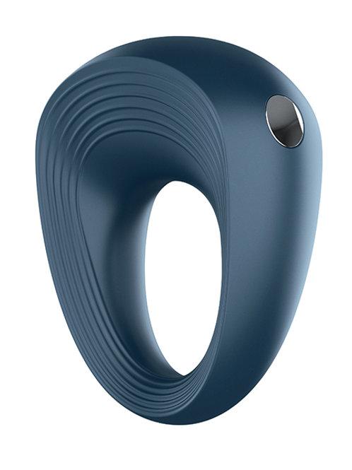 Satisfyer Standard Rings Plug Set Plus Vibration - Blue