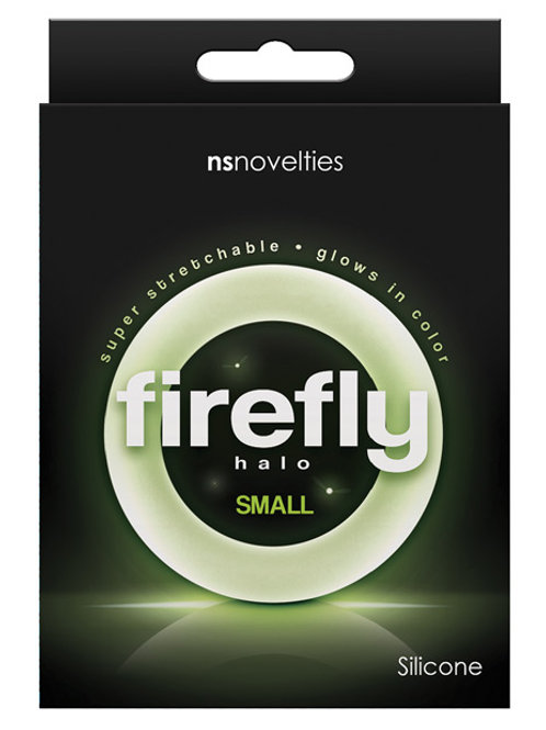 Firefly Halo Small Cockring - Clear