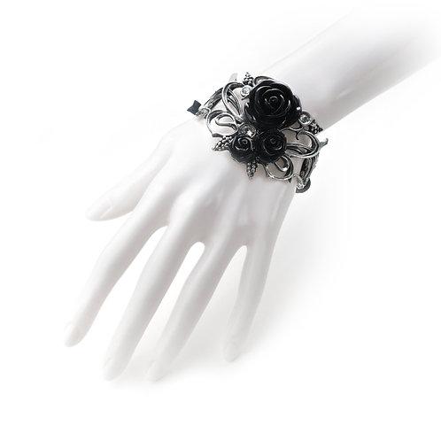 Skull & Briar Rose Bracelet