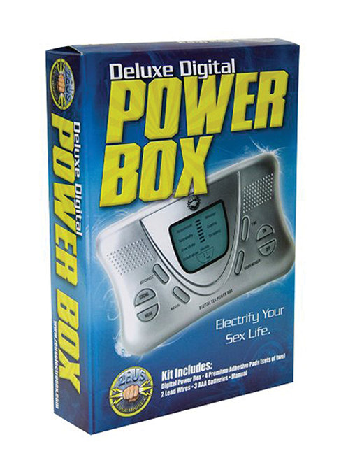 Zeus Electrosex Powerbox Deluxe Digital Power Box