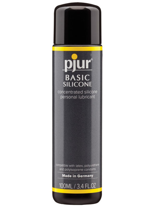 Pjur Basic Silicone Lubricant - 100 ml Bottle