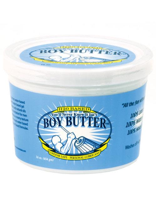 Boy Butter H2O Based - 16 oz Tub