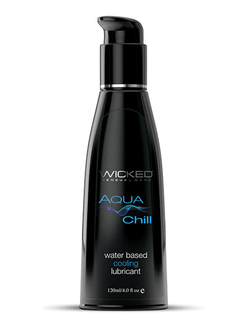 Wicked Sensual Care Chill Cooling Water Based Lubricant - 4 oz