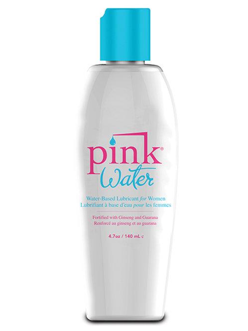 Pink Water Lube - 4.7 oz Flip Top Bottle