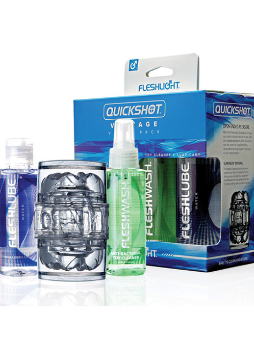 Fleshlight Quickshot Vantage Value Pack - Clear