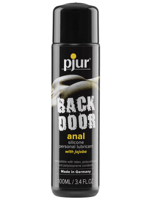 Pjur Back Door Anal Silicone Personal Lubricant - 100 ml Bottle