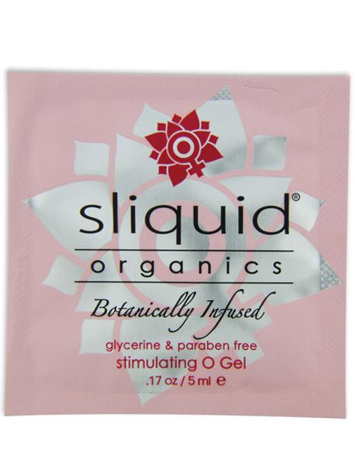 Sliquid Organics O Gel - .17 oz Pillow