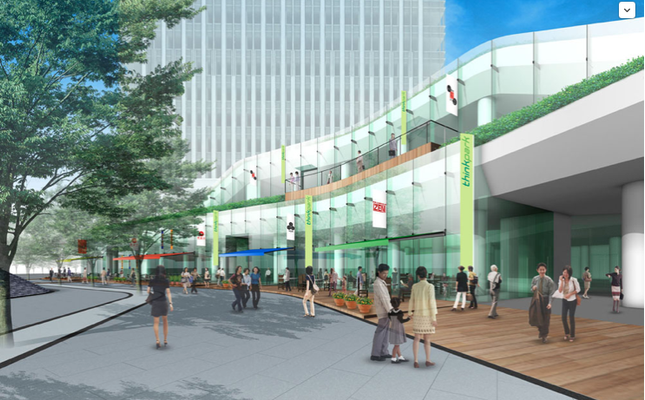 ThinkPark Commercial High-Rise:  Tokyo's First Step Toward Green Urbanism.