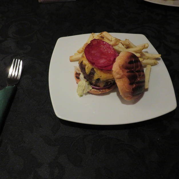 OUR NEW, SPANISH BURGER