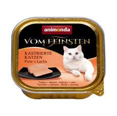 봄파인스텐 중성화 고양이용 캔 칠면조+연어