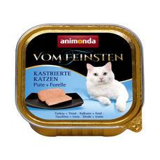 봄파인스텐 중성화 고양이용 캔 칠면조+송어
