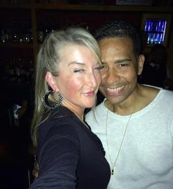 Me & Andrea @ No.8-Closed Club Party