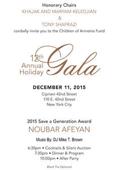 COAF Invite @ Cipriani 12.11.2015a