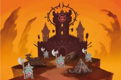 Castle of the evil guys!