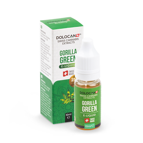 Dolocan Gorilla Green E-Liquid 10% CBD