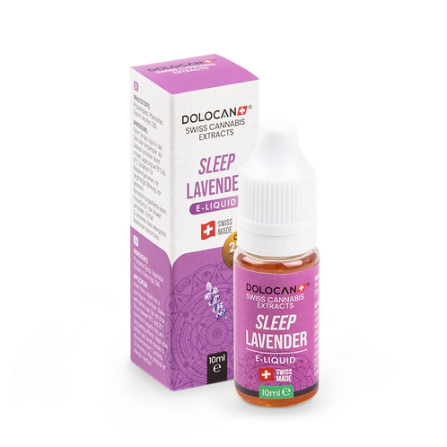 Dolocan Sleep Lavender E-Liquid 10% CBD