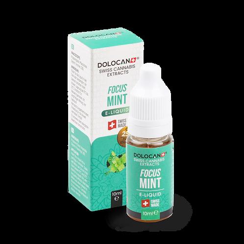 Dolocan Focus Mint E-Liquid 25% CBD