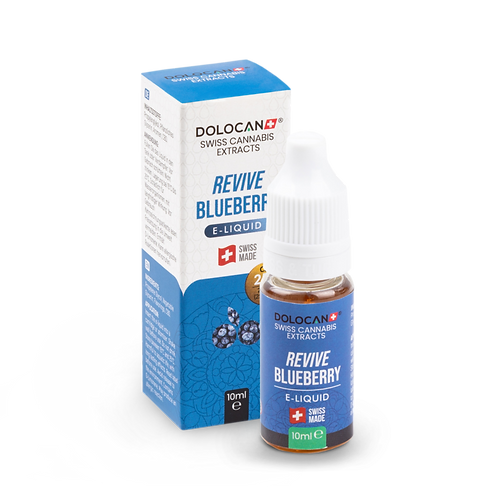 Dolocan Revive Blueberry E-Liquid 25% CBD