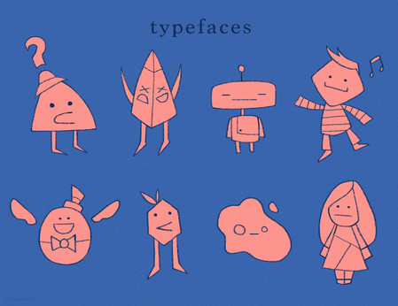 Typefaces: Emoticon Characters