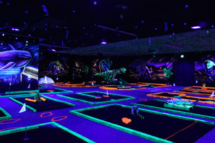 View of Our Mini Golf