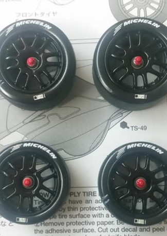 Toyota GT-ONE rims