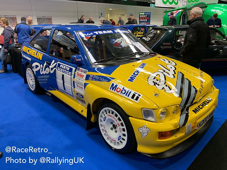 Ford Escort Cosworth Michelin pilot decals