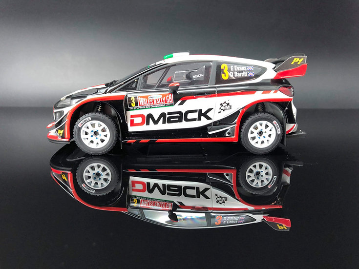 Fiesta WRC 2017 Gravel set