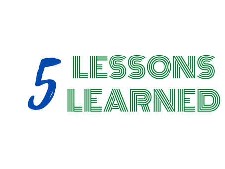 5 lessons from 5 weeks of at home learning