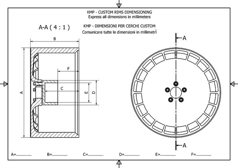 Custom 1:18 rim - 30mm MAX