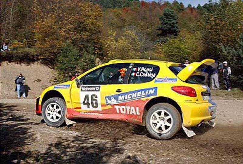 Peugeot 206 WRC vr46 gravel rims