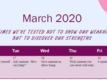 6 Week Wellness Calendar