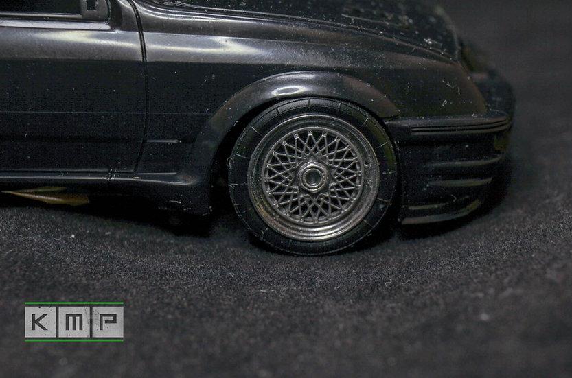 Ford Sierra RS500 BBS rims + details